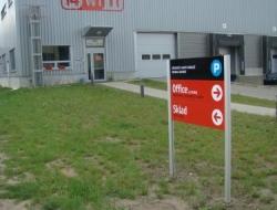 i4wifi - směrová cedule (systém Cosign outdoor)