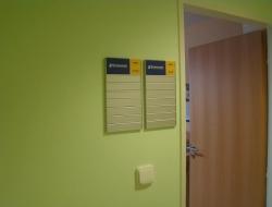 Stormware - dveřní cedulka (hliníkový systém Cosign Indoor)