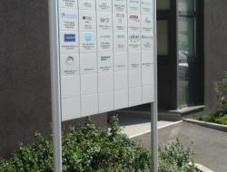 TIC - cedule vstupní hala (systém Cosign indoor)